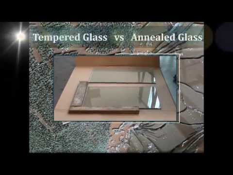 How Tempered Glass is made video by PRL Glass Systems Inc.