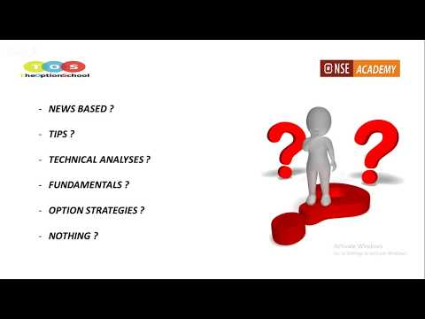 Options Trading webinar by TOS & NSE ACADEMY