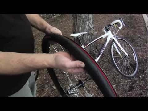 Changing A Flat: Re-installing a tube back into bike tire