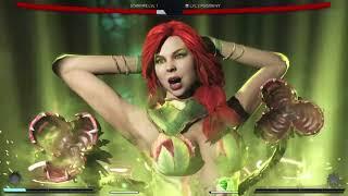 Injustice 2 Star Fire vs Poison Ivy