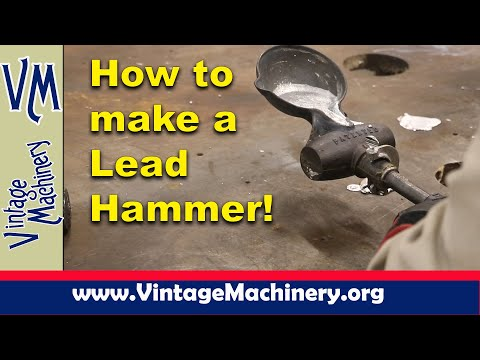 How to make a Lead Hammer