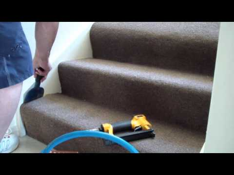 How to Replace Stair Carpet  DIY