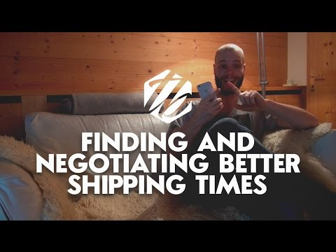 Drop Shipping Europe — How To Find And Negotiate Better Shipping Options | #179