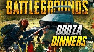 Battlegrounds: GROZA CHICKEN DINNER! (Playerunknown