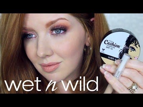 Wet 'N Wild Makeup | MegaCushion Foundation Wear Test
