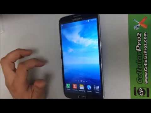 How to get Samsung Galaxy Mega IN & OUT of safe mode