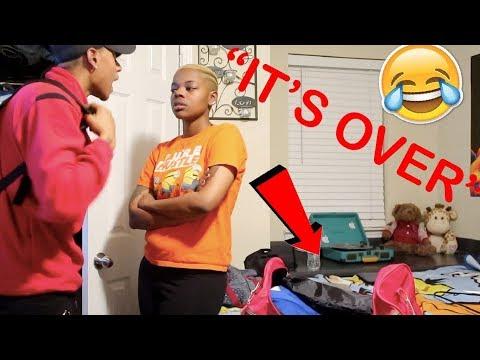 IM LEAVING YOU PRANK ON GIRLFRIEND !!! | VLOGMAS DAY 1