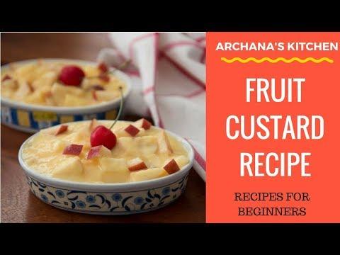Fruit Custard Recipe - Indian Dessert Recipes by Archana's Kitchen
