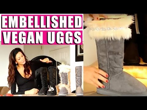 DIY Faux Fur Ugg Boots - Fashion Hacks
