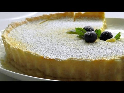 LEMON TART How to make easy recipe
