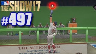 ROBBING A HOME RUN IN THE PLAYOFFS! | MLB The Show 17 | Road to the Show #497