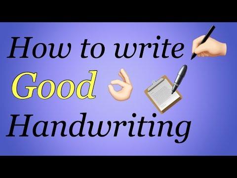 How to write Good Handwriting ✍🏻   Tips to improve Handwriting