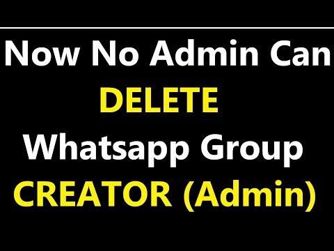 No Admin Can Delete Group Creator (Admin) ! Technoz Alam