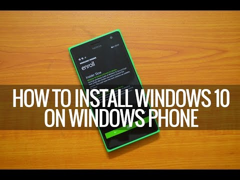 How to Install Windows 10 Preview on Windows Phone