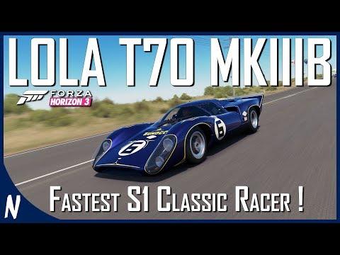 1969 LOLA PENSHE SUNOCO T70 MKIIIB | Forza Horizon 3 | Fastest Classic Racer Tuning Guide