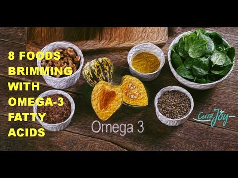 8 Foods Brimming With Omega-3 Fatty Acids