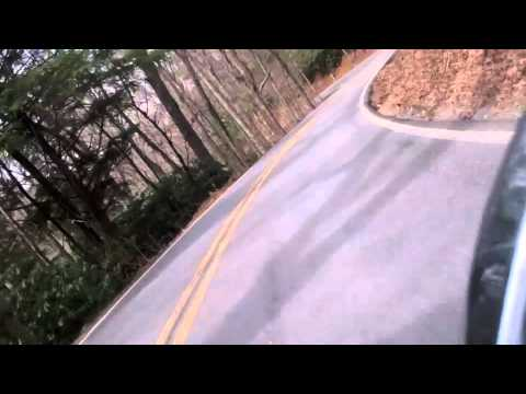 Bonneville Spring ride: Bumps got the better of me