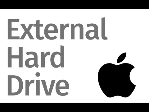 How to make external hard drive to work with Mac and Windows Pc