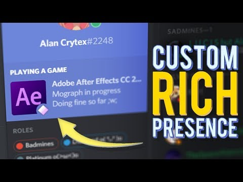 How To Get A Custom Discord Rich Presence
