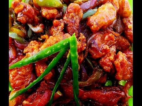 Crispy Chilli Chicken Recipe | Crispy Chicken Recipe | How to make Chilly Chicken |