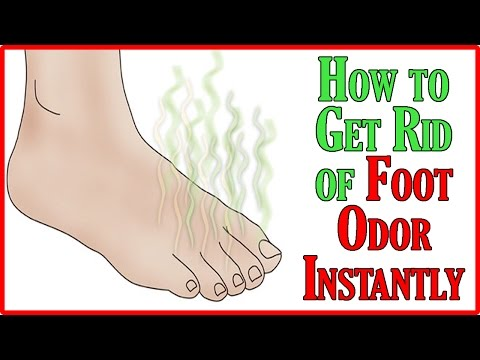 How to Get Rid of Foot Odor Fast | Feet Sweating | Home Remedies
