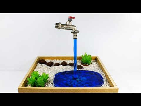 How To Make a Magic Faucet Fountain