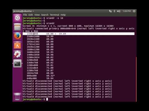 Linux Basics: How to change Screen Resolution in Linux (Command Line)