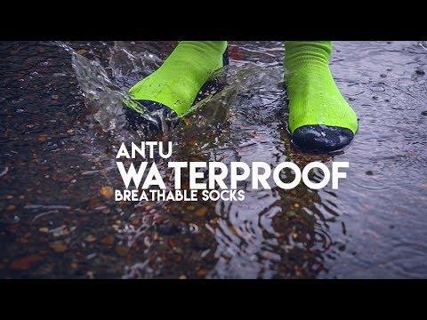 Antu Waterproof Socks at Drift Bikes