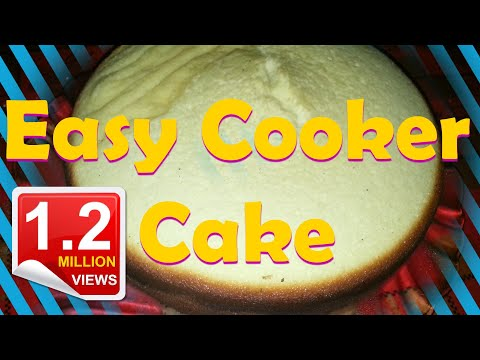 Cooker Cake | Egg Sponge Cake | Easy Without Oven