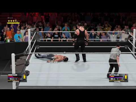 WWE 2K17 Online Epic Matches