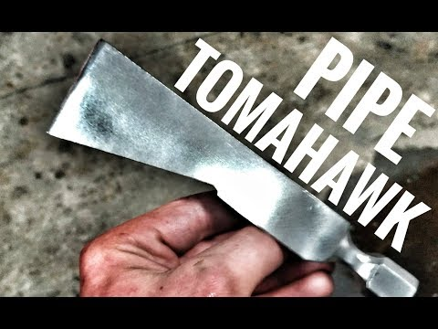 Forging A PIPE TOMAHAWK with GREG PAUL!