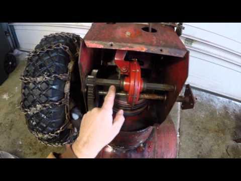 Snapper 5HP Snow Blower Maintenance