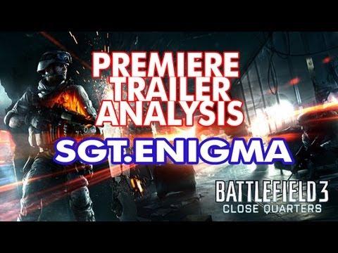 Battlefield 3 | Close Quarter Combat DLC | Trailer Analysis