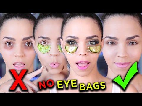HOW TO DIY Eye Masks to Get Rid of Dark Circles & Bags Under Eyes Fast!