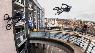 Sebastian Keep Redefines Bmx With Massive Bridge Gaps to wallrides Walls
