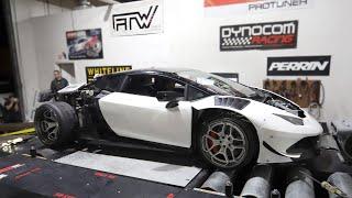 LS Swapped Lamborghini Huracan Dyno Pulls