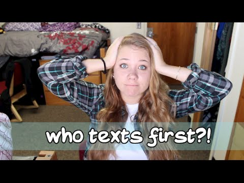 Who Texts First?!