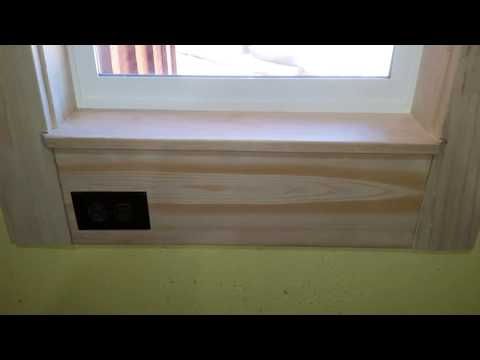 Sugar pine window cassings and Trim. Amazingly stable wood.