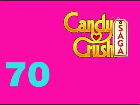 Candy Crush Saga Level 70 Livello 70