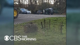 Download Witnesses describe Prince Philip's state immediately after car crash Video