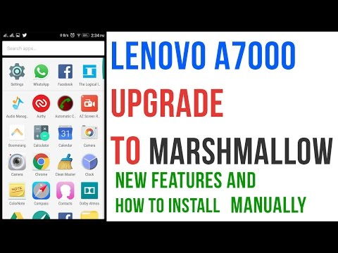Lenovo a7000 marshmallow update review | Problems | New features