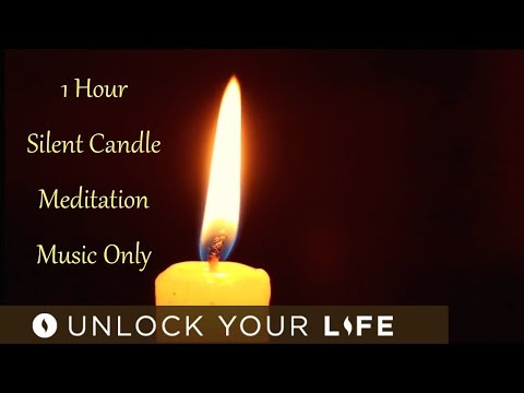 1 Hour Candle Meditation Music Only