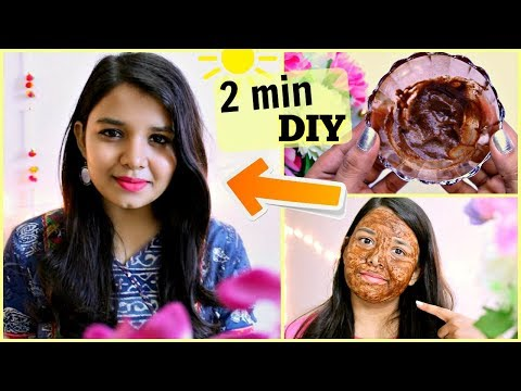 DIY Aloe Vera Gel Face mask in 2 mins | BEST ACNE FREE FACEMASK ( Homemade face pack )