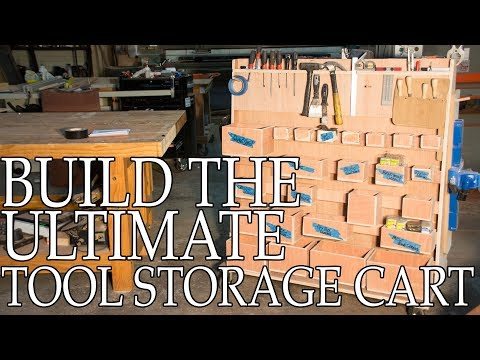 Build The Ultimate Storage Cart (With Plans!)
