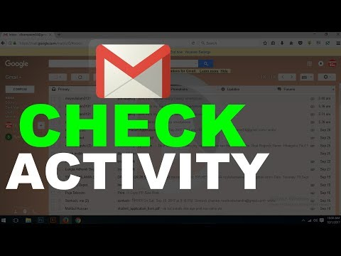 Gmail Activity show and delete/gmail history check /google activity search