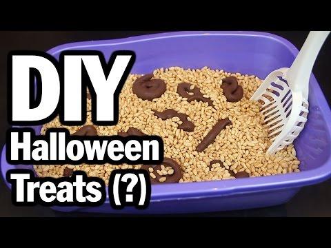 DIY Halloween PIN-SPLOSION, CORINNE VS COOKING #1