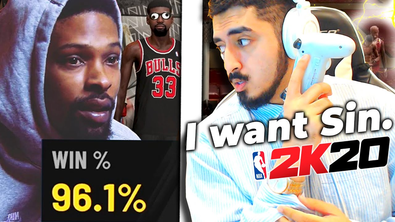 I challenged PoorBoySin to a $1000 2v2 wager, he accepted (NBA 2K20)