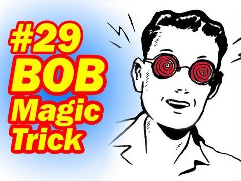 Magic BOB Trick. Easy Magic Trick. Big Audience Impact. So Simple. A Great Party Trick. Learn Magic