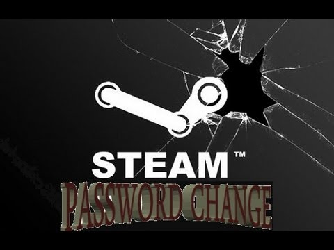 How to change Steam account password