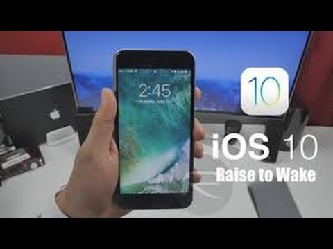 How to Enable Raise to Wake Lock screen Feature in iOS iPhone 7 iPhone 7 plus 6s